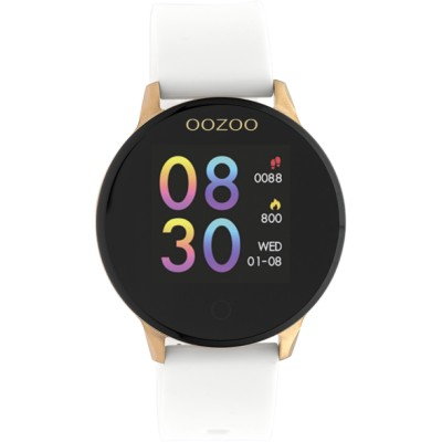 OOZOO Smartwatch wit/rose 43mm Q00111