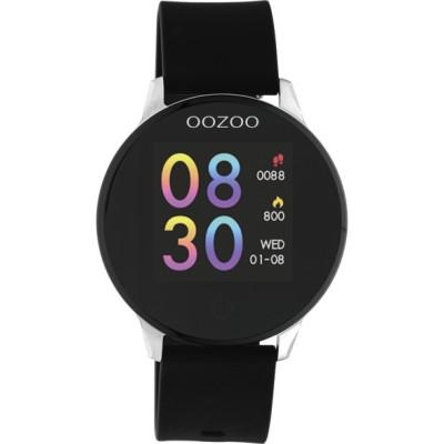 OOZOO Smartwatch zwartzilver 43mm Q00113