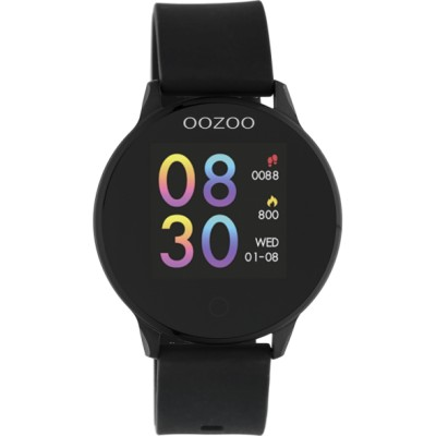 OOZOO Smartwatch zwart/zwart 43mm Q00115