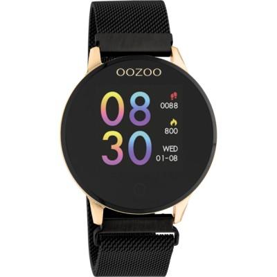 OOZOO Smartwatch Zwart/Rose 43mm Q00118