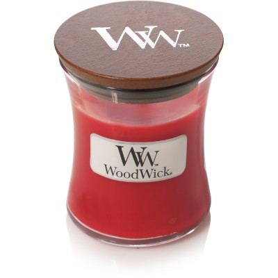 Woodwick Crimson Berries Candle Mini