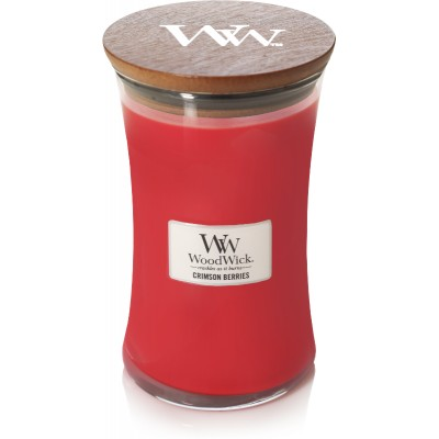 Woodwick Crimson Beriries Large Candle