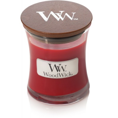 Woodwick Pomegranate Candle Mini