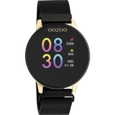 OOZOO Smartwatch Zwart/Goud 43mm Q00122