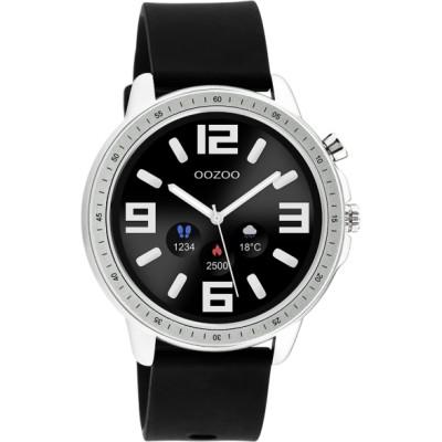 OOZOO Smartwatch Zwart /Zilver 45mm Q00300