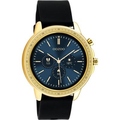 OOZOO Smartwatch Zwart /Goud 45mm Q00301