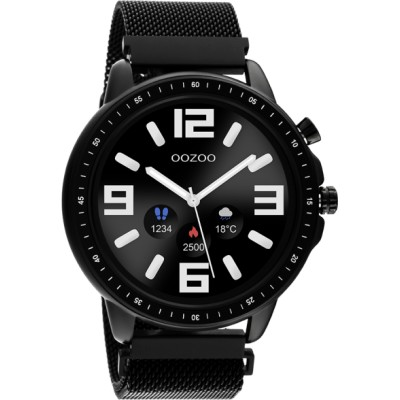 OOZOO Smartwatch Zwart 45mm Q00309