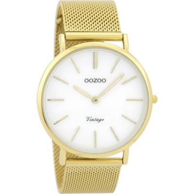 OOZOO Vintage horloge Goud 40mm