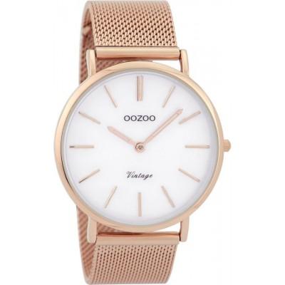 OOZOO Vintage horloge Rose 40mm C9364