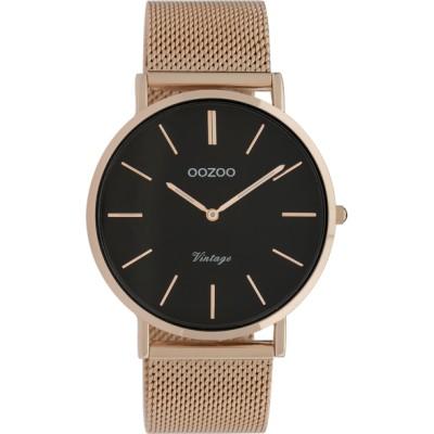 OOZOO Vintage horloge Rose 40mm C9925