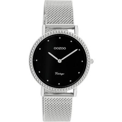 OOZOO Vintage horloge Zilver 34mm C20052