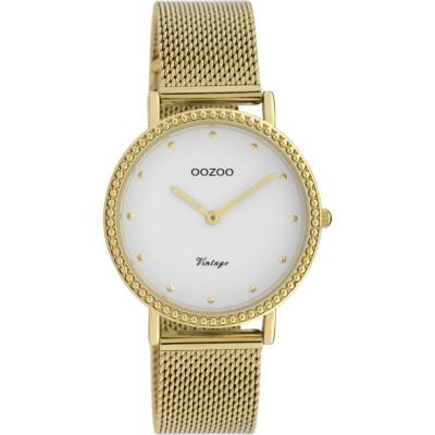 OOZOO Vintage horloge  Goud 34mm C20054