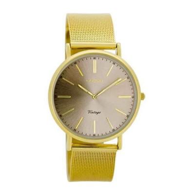 OOZOO Vintage horloge Goud 36mm C8148