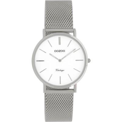 OOZOO Vintage horloge Zilver 32mm C9903