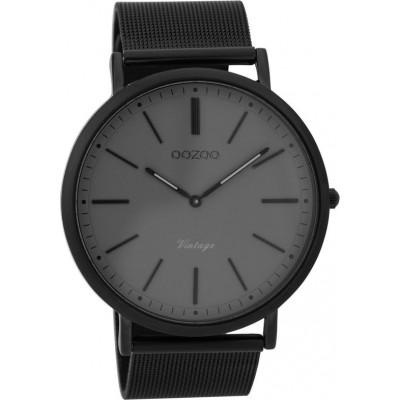 OOZOO Vintage horloge Zwart 44mm C9351