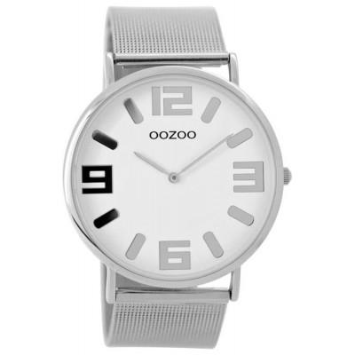 OOZOO Vintage horloge Zilver 40mm C8880