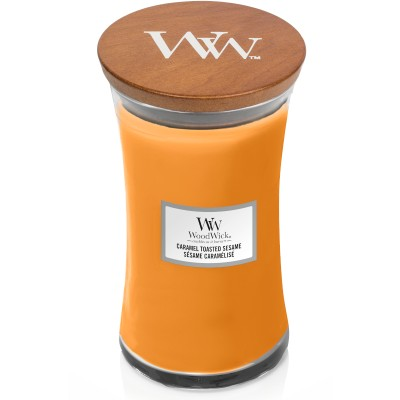 Woodwick Caramel Toasted Sesame Large Candle