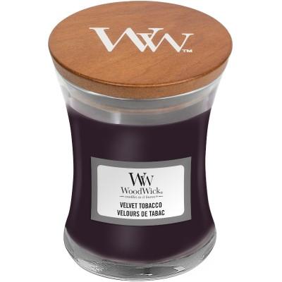 Woodwick Velvet Tobacco Candle Mini