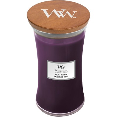 Woodwick Velvet Tobacco Large Candle