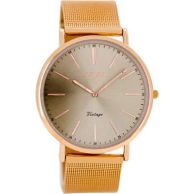 OOZOO Vintage horloge Rose / Grijs