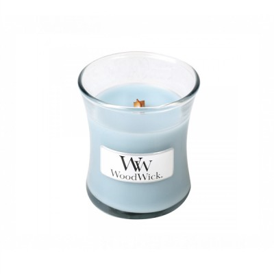 Woodwick Soft Chambray Mini Candle