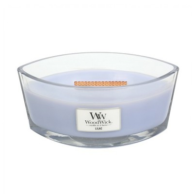 Woodwick Lilac Ellips Candle