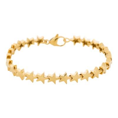 iXXXi Stalen armband Stars Gold