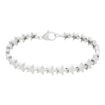 iXXXi Stalen armband Stars Brushed Silver