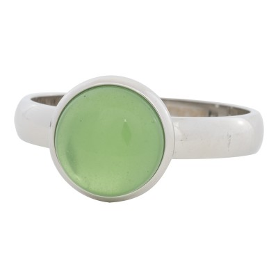 iXXXi Ring green Stone ZilverR4305-3