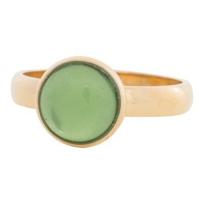 iXXXi Ring green Stone GoudR4305-1