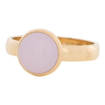 iXXXi Ring Pink Stone Goud R4304-1