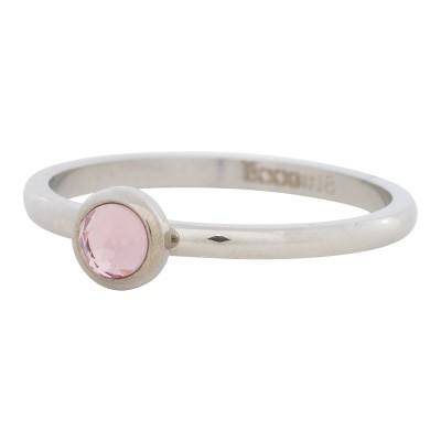 iXXXi Ring Zirconia Roze Zilver R4107-3