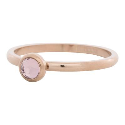 iXXXi Ring Zirconia Roze Rose R4107-2