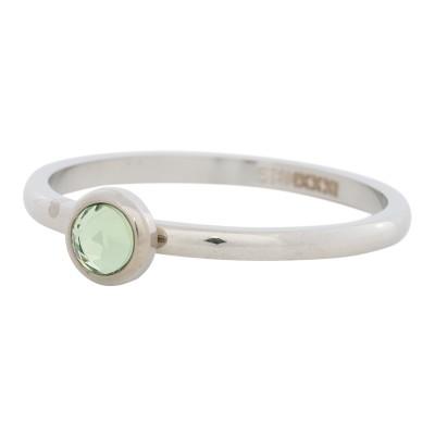 iXXXi Ring Zirconia Groen Zilver R4105-3