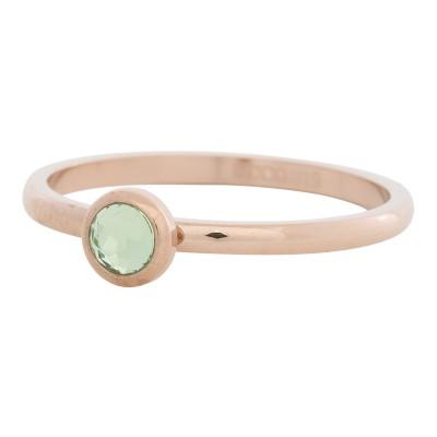 iXXXi Ring Zirconia Groen Rose R4105-2