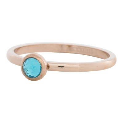 iXXXi Ring Zirconia Water Blue Rose R4104-2