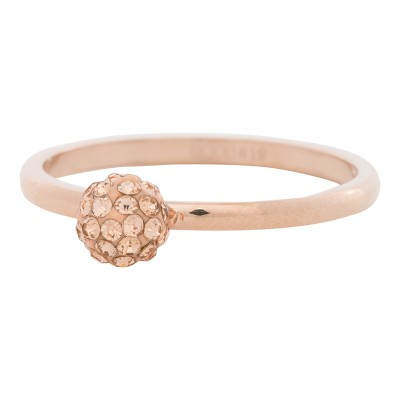 iXXXi Ring Ball Fill Clear Cristal Rose R4204-2