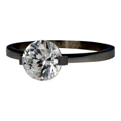 iXXXi Ring Glamour Stone Zwart R4201-5