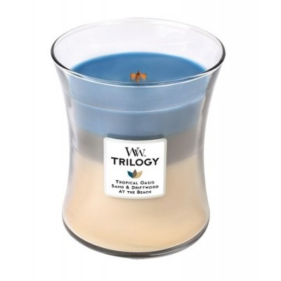 Nautical Escape Trilogy Medium Candle WoodWick