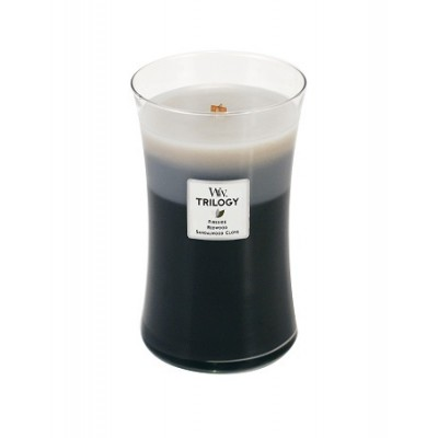 Warm Woods Trilogy Large Candle WoodWick