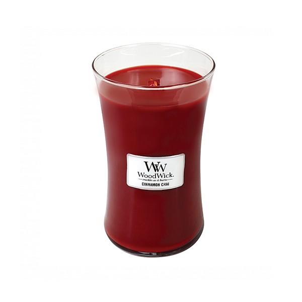 Woodwick Cinnamon Chai Large Candle