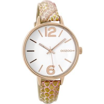 OOZOO Timepieces horloge Multicolor 38mm