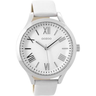 OOZOO Timepieces horloge Wit 42mm